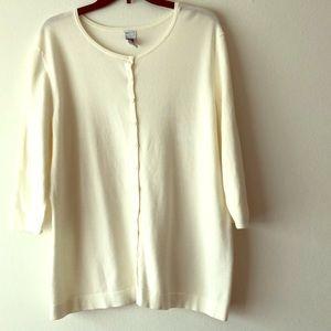 Gap button cardigan sweater